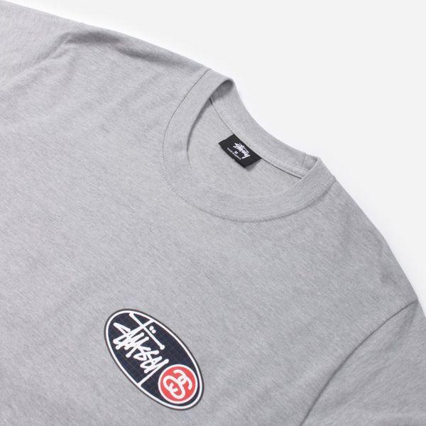 Stussy Oval Grid Long Sleeve T-Shirt