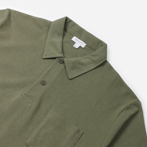 Sunspel Riviera Short Sleeve Polo Shirt
