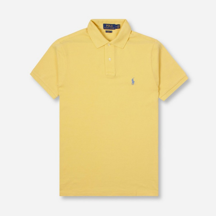 Polo Ralph Lauren Short Sleeve Slim Polo Shirt
