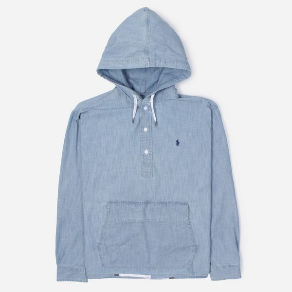 Polo Ralph Lauren Chambray Hooded Popover Shirt