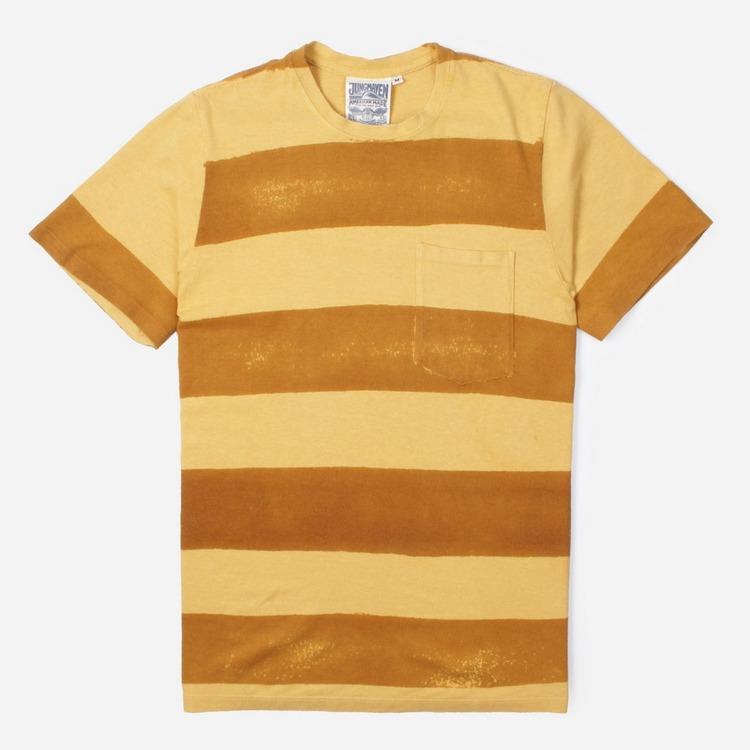 Jungmaven Zuma Stripe Short Sleeve T-Shirt