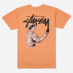 770e1d472195 Stussy Painter Pigment Dyed Short Sleeve T-Shirt ...