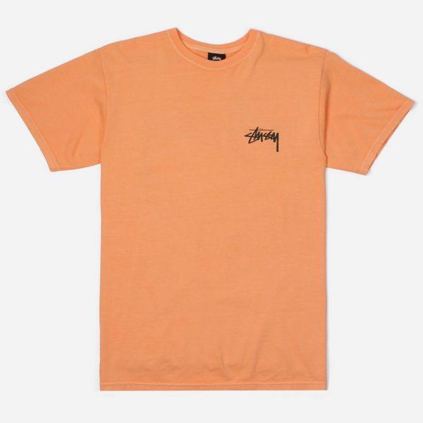 Stussy Painter Pigment Dyed Short Sleeve T-Shirt