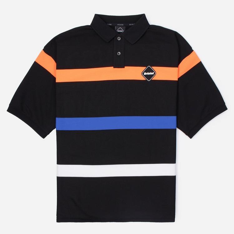 FC REAL BRISTOL Border Big Short Sleeve Polo Shirt