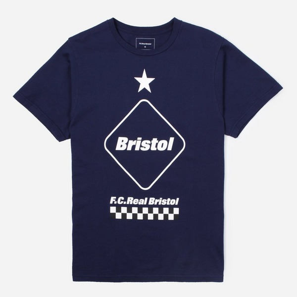 FC REAL BRISTOL Emblem Short Sleeve T-Shirt
