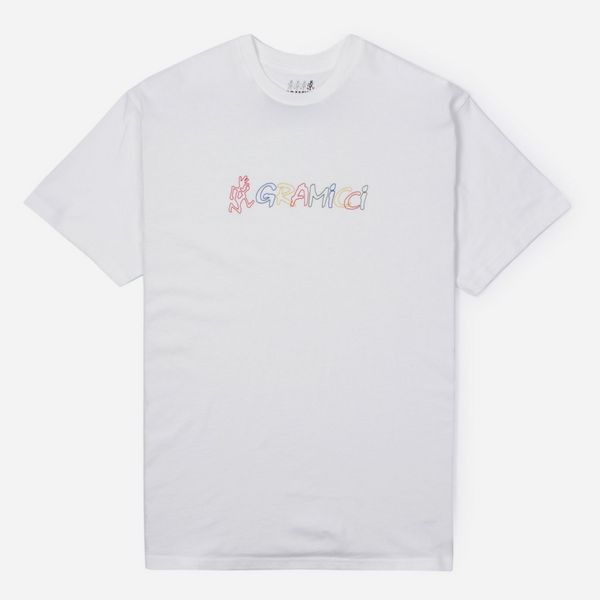 Gramicci Rainbow Logo Short Sleeve T-Shirt