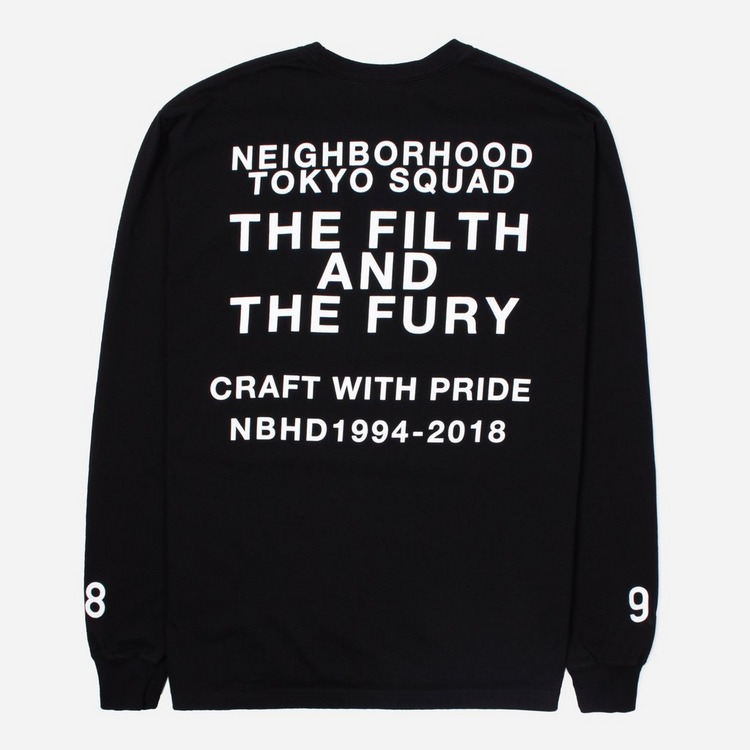 Neighborhood Filth & Fury Long Sleeve T-Shirt