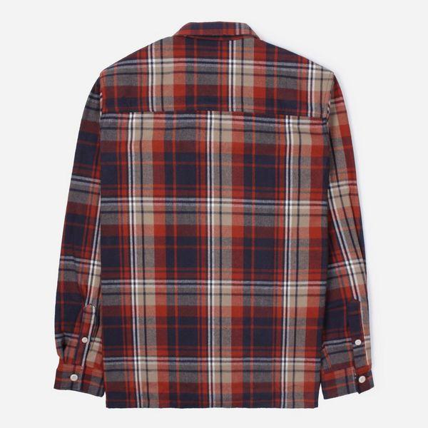 Wood Wood Franco Long Sleeve Check Shirt