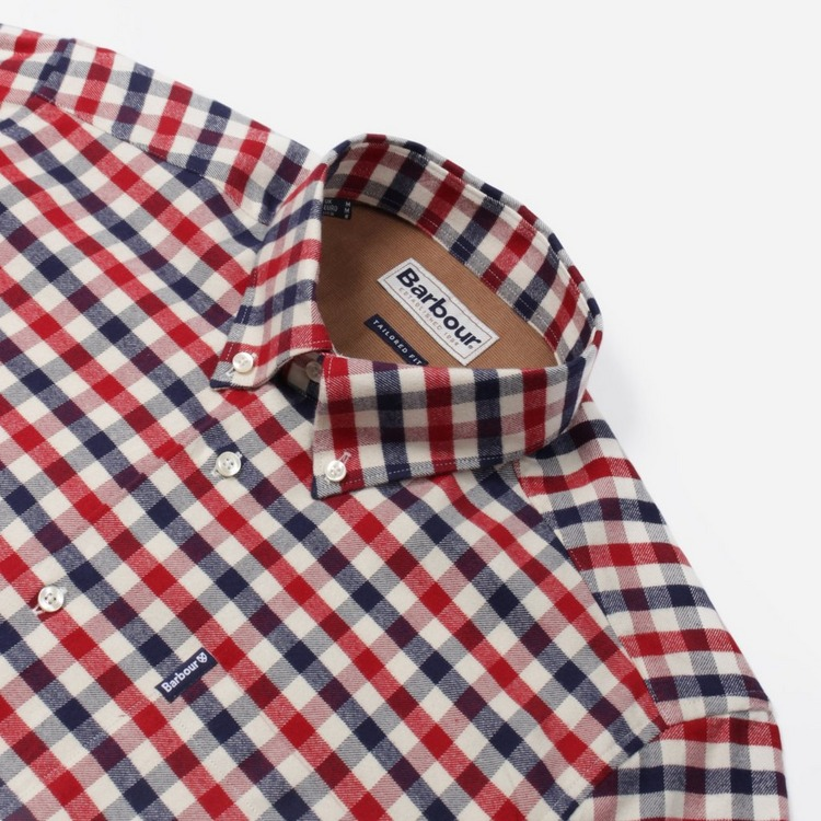 Barbour Check Long Sleeve Shirt