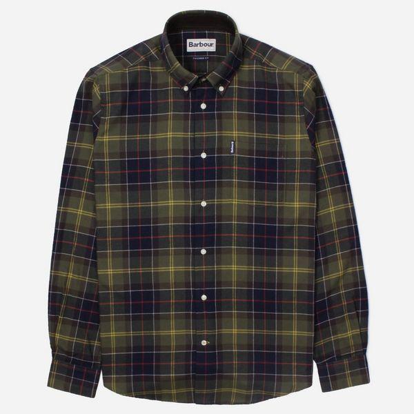 d2b0e2c25d9a1 Barbour Tartan Long Sleeve Shirt | The Hip Store