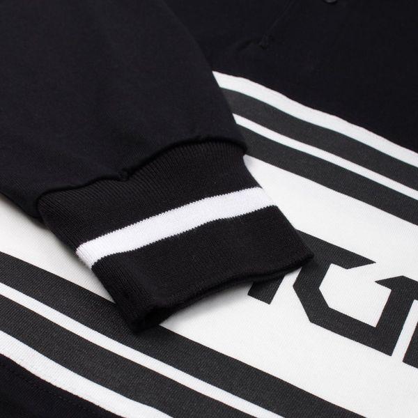 Flagstuff Long Sleeve Polo Shirt