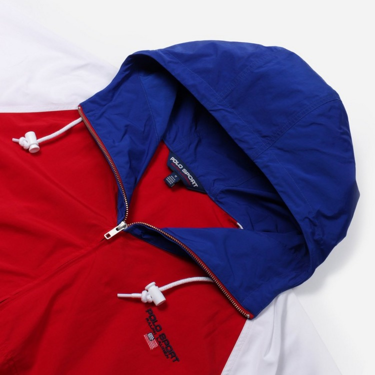 Polo Ralph Lauren Sport Hooded Windbreaker Jacket