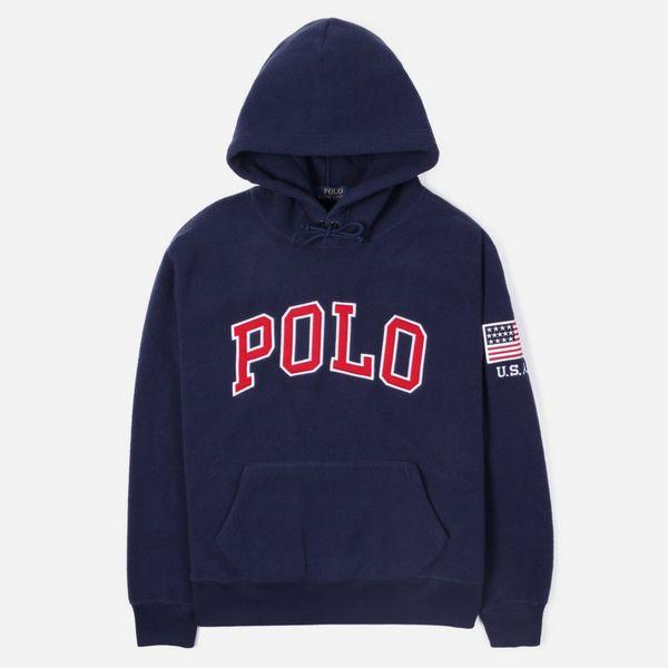 Polo Ralph Lauren Polo Fleece Overhead Hoodie