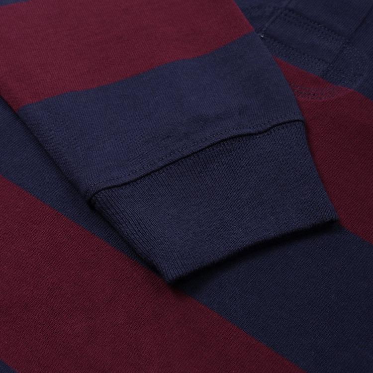 Polo Ralph Lauren Rugby Stripe Long Sleeve Polo Shirt