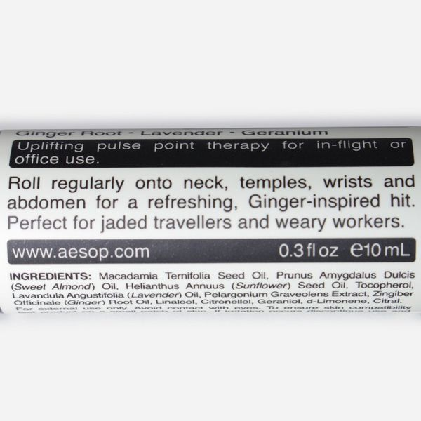 Aesop Ginger Flight Therapy 10ml