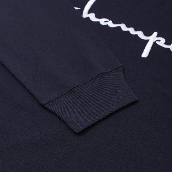 Champion Big Logo Long Sleeve T-Shirt