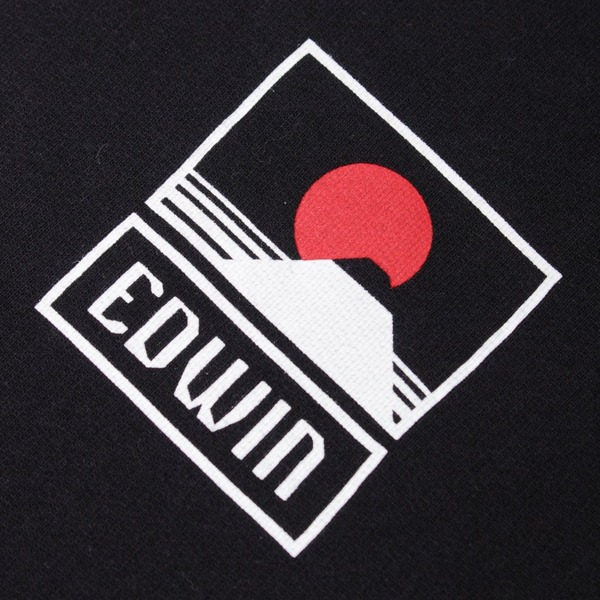 Edwin Sunset On Mount Fuji Hoodie
