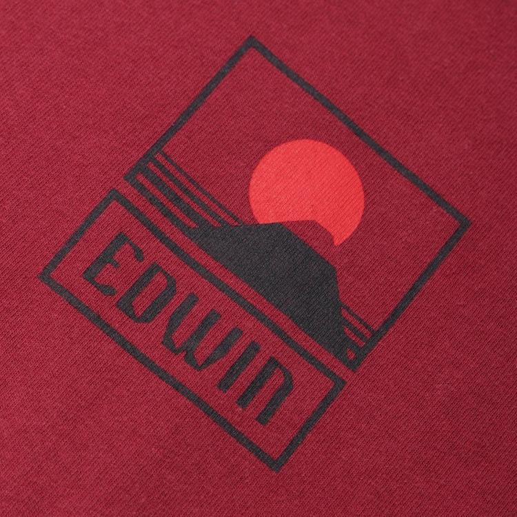 Edwin Sunset On Mount Fuji T-Shirt