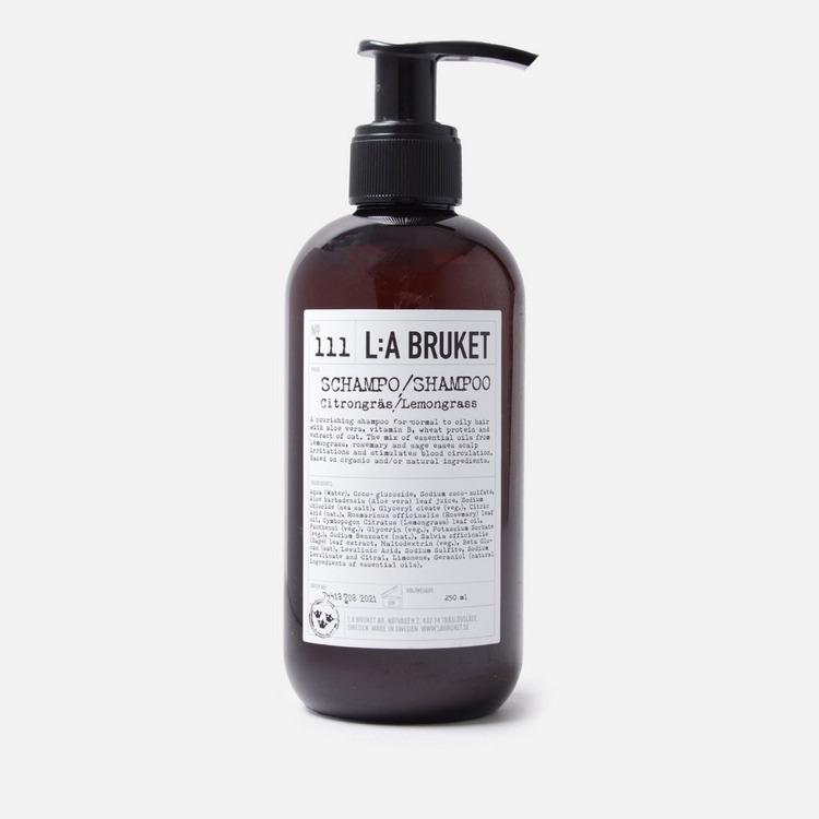 L:A Bruket Shampoo 250ml - Lemongrass