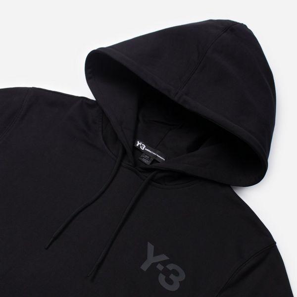 adidas Y-3 Logo Overhead Hoodie