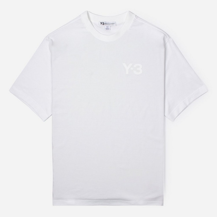 adidas Y-3 Logo Short Sleeve T-Shirt