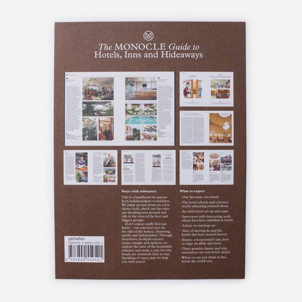 Publications The Monocle Guide To Hotels, Inns & Hideaways