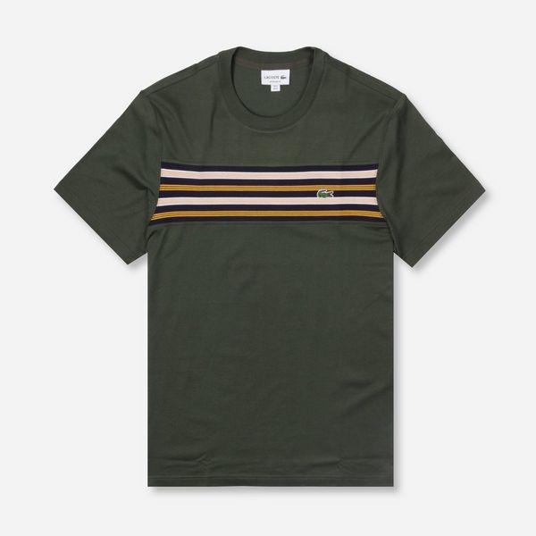 Lacoste Chest Stripe Short Sleeve T-Shirt