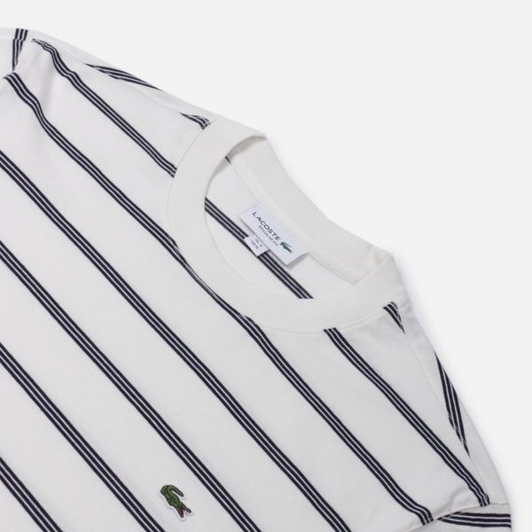 Lacoste Long Sleeved Striped T-Shirt