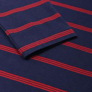 Lacoste Striped Long Sleeved T-Shirt