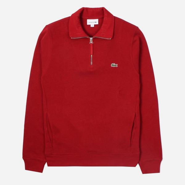 Lacoste Half Zip Sweatshirt