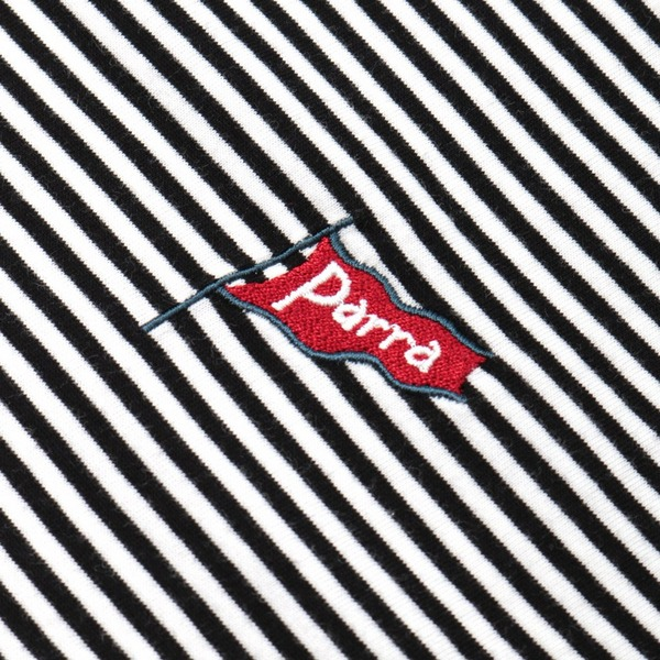 by Parra Flapping Flag Short Sleeve Stripe T-Shirt