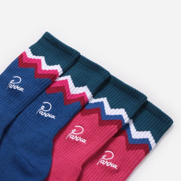 by Parra 4-Pack Mountain Stripe Socks