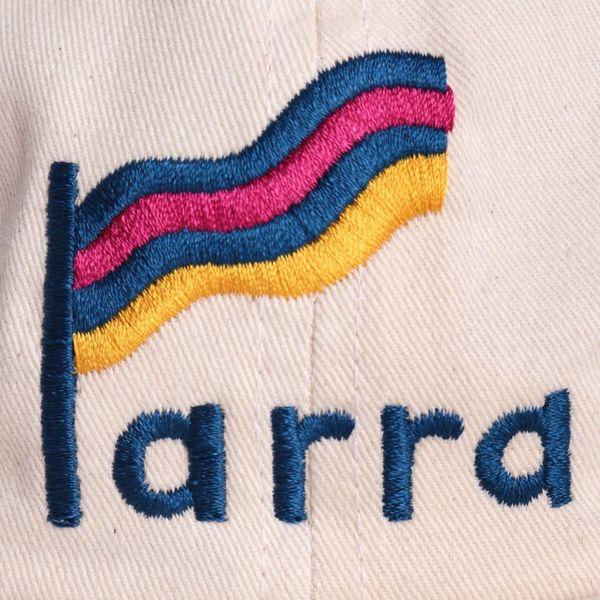 by Parra Striped Flag 6 Panel Cap