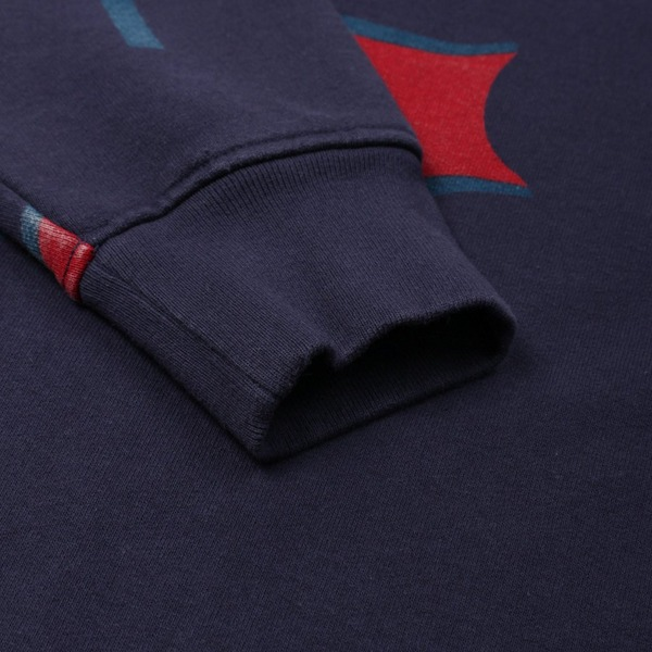 by Parra Flapping Flag Crew Sweatshirt