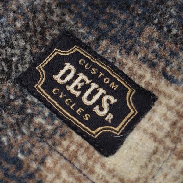 Deus Ex Machina The Piston Wool Shirt