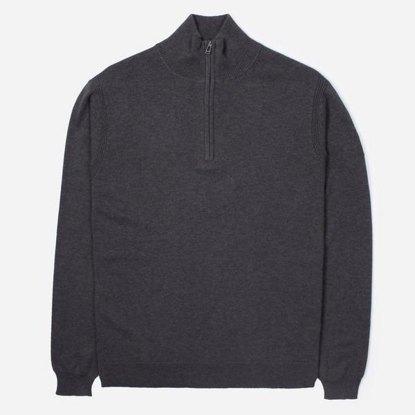 Belstaff Bay Half Zip Knitted Jumper