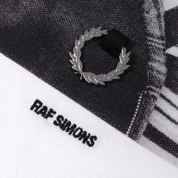 Fred Perry x Raf Simons Shoulder Print Polo Shirt