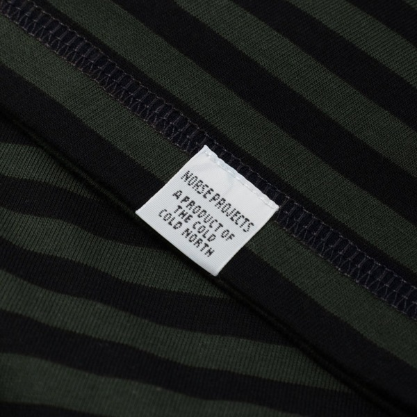 Norse Projects Niels Classic Stripe Short Sleeve T-Shirt