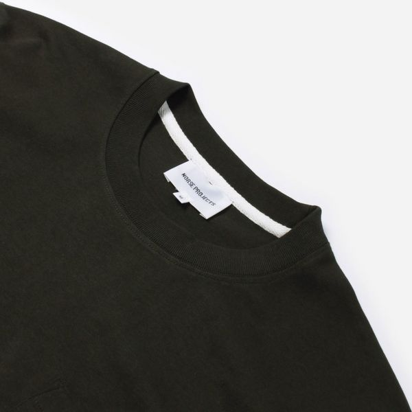 Norse Projects Johannes Pocket Short Sleeve T-Shirt