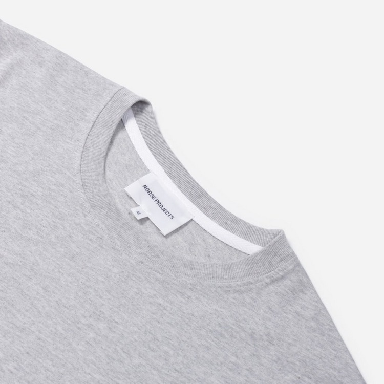 Norse Projects Niels Ivy Wave Logo Short Sleeve T-Shirt
