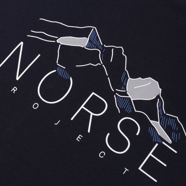 Norse Projects Niels Mountains Short Sleeve T-Shirt