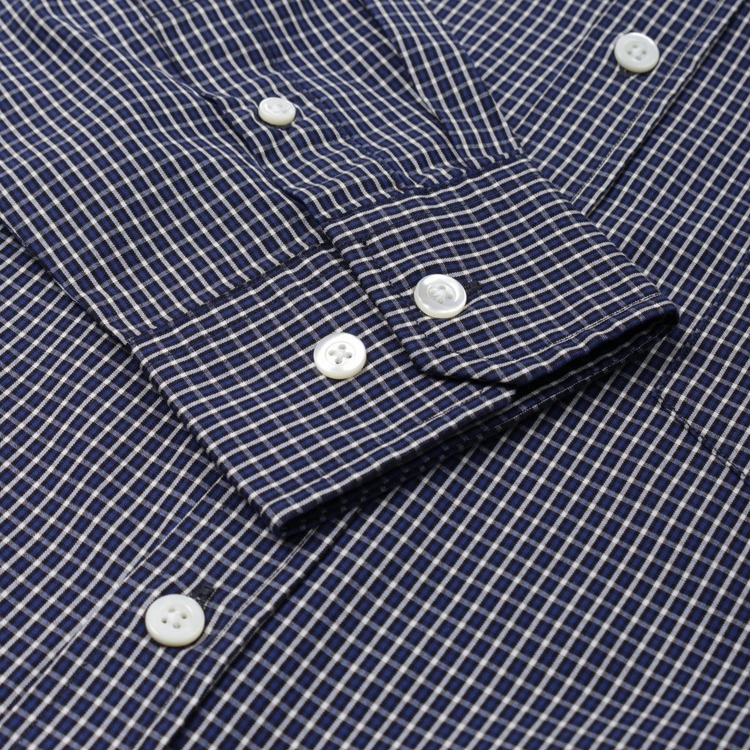 Norse Projects Osvald Micro Plaid Shirt