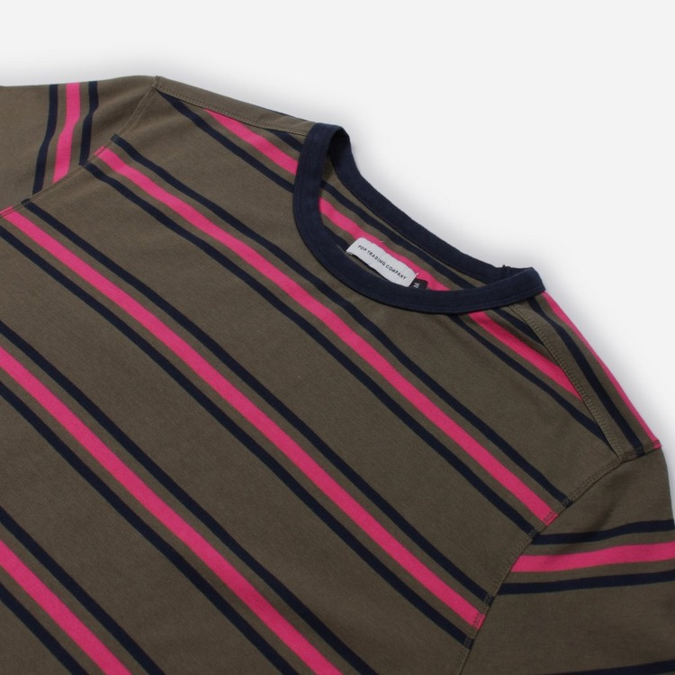 Pop Trading Company Harold Long Sleeve Stripe T-Shirt