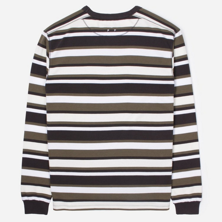 Pop Trading Company Co Stripe Long Sleeve T-Shirt