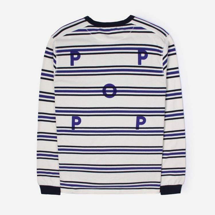 Pop Trading Company Harold Stripe Long Sleeved T-Shirt