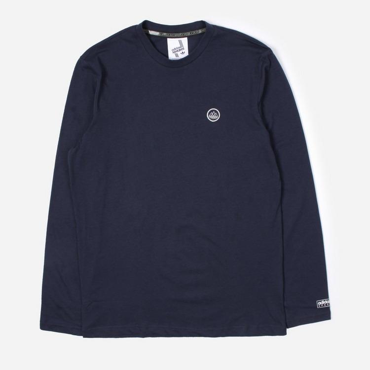 adidas Originals Spezial Long Sleeved Logo T-Shirt