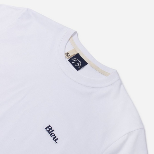 Bleu De Paname Bleu Badge Short Sleeve T-Shirt