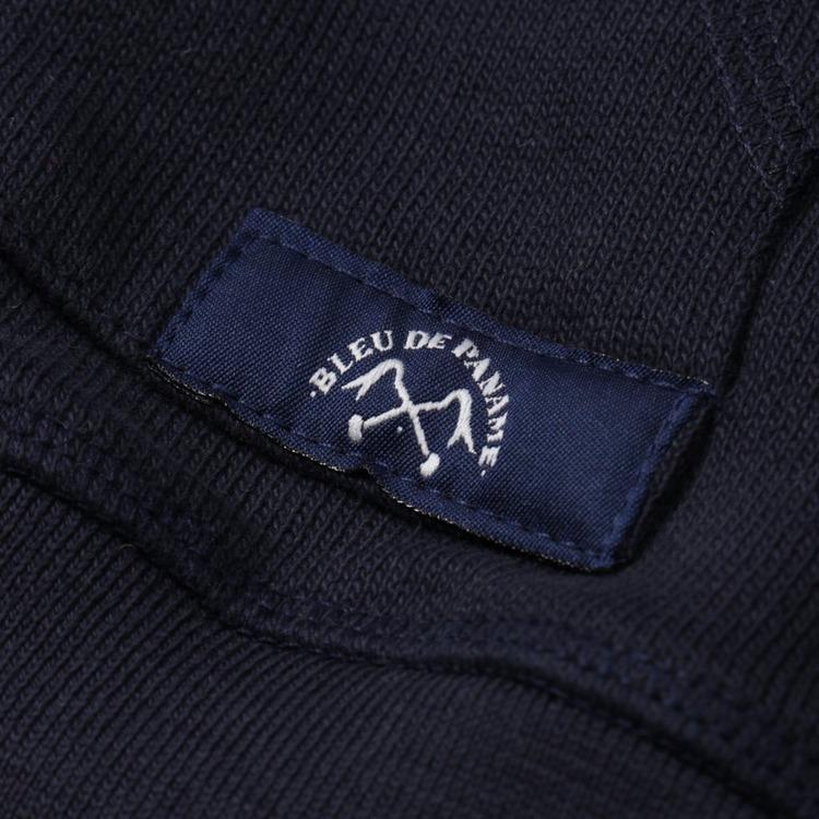 Bleu De Paname Multi Logo Overhead Hoodie