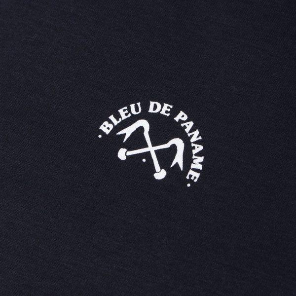 Bleu De Paname Pied De Biche Short Sleeve T-Shirt