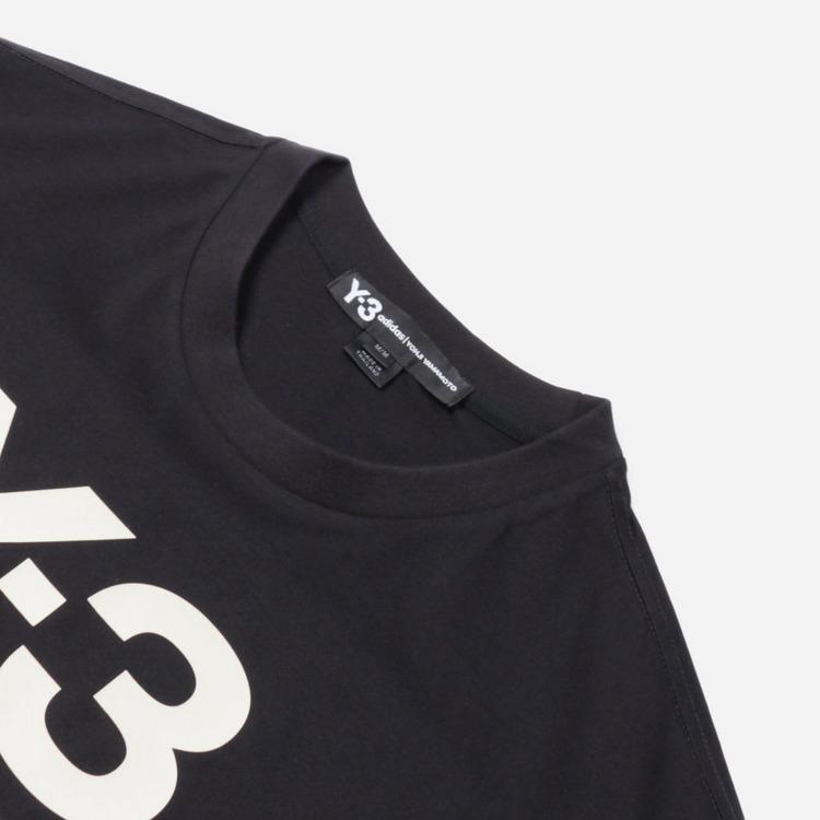 adidas Y-3 Stacked Logo T-Shirt